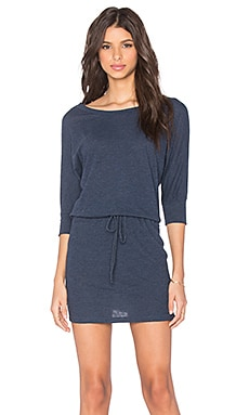 Lanston BF Mini Dress in Navy