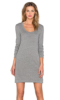 Lanston Sweatshirt Dress in Heather
