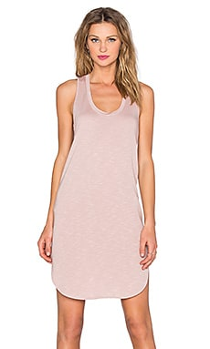 Lanston Racerback Mini Dress in Blush