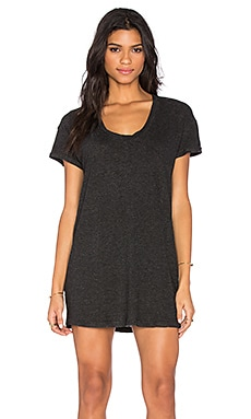 Lanston T Shirt Mini Dress in Black