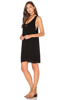 Cutout Mini Dress en Negro