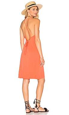 Lace Back Slip Dress in Calypso