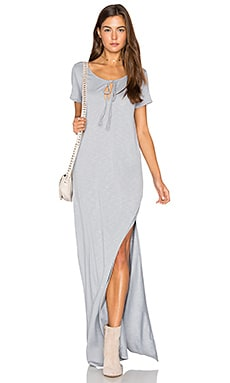 Caftan Shirt Maxi Dress en Oyster