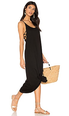 Side Strap Maxi in Black
