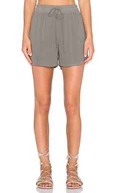 Lanston Mercer Woven Shorts in Olive