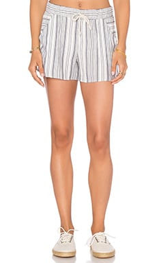 Stripe Short in Harbor