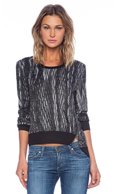 Lanston Pullover in Black & White
