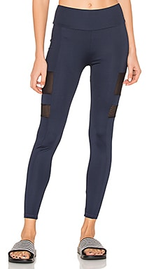SPORT Edison Side Bar Leggings in Navy