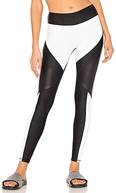 SPORT Odin Legging in Black & White