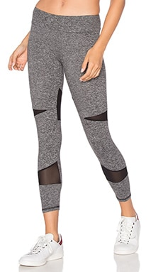 Lanston SPORT Diamond Mesh Legging en Heather