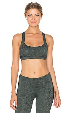 Lanston SPORT X Back Bra in Military