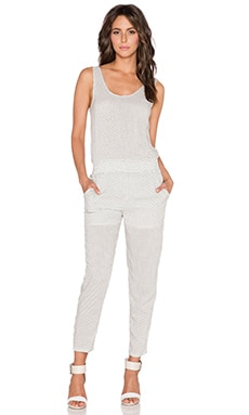Lanston Jumpsuit in Palm