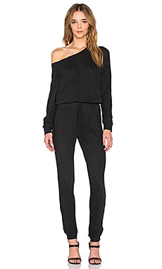 Lanston Boyfriend Jumpsuit in Black