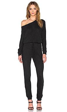 Lanston Boyfriend Jumpsuit in Black