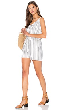Crisscross Romper in Harbor