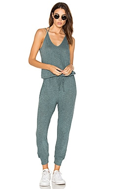 Double Strap Jumpsuit in Mist