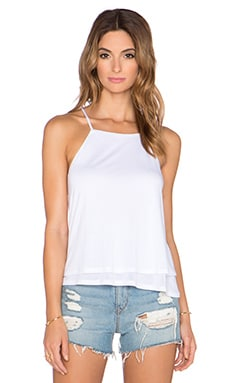 Lanston Fine Gauge Double Layer Tank in White