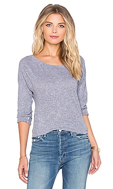 Boyfriend Tunic Long Sleeve Tee in Heather