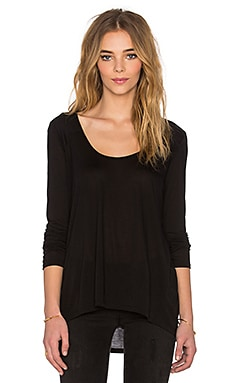 Lanston Long Sleeve Tunic in Black