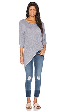Lanston Asymmetrical Tunic in Heather