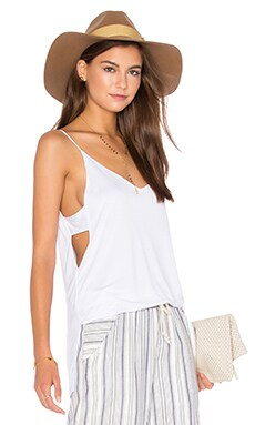 Cut Out Cami en Blanco