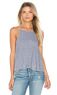 Swing Crop Cami in Heather