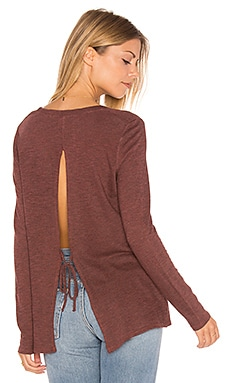 Tie Back Tunic in Clay