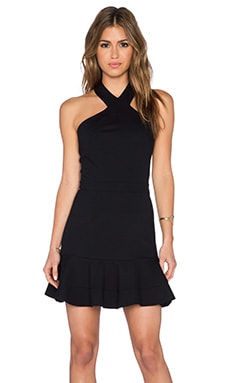 LaPina by David Helwani Naomi Dress in Black