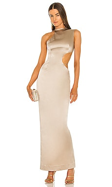 Halter Side Cutout Gown LaQuan Smith $2,100 BEST SELLER