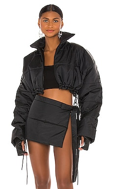 Cropped Puffer Jacket LaQuan Smith $1,250 Collections