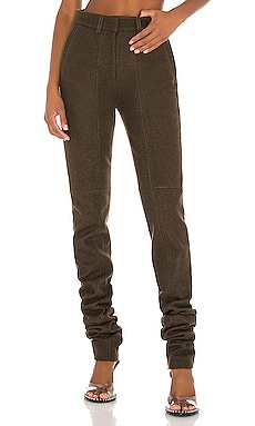 Caitlyn Motor Military Pant LaQuan Smith $417