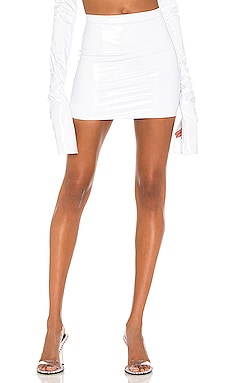 X REVOLVE High Waist Mini Skirt LaQuan Smith $325