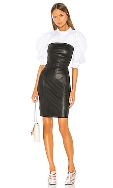 Selima Leather Dress LAMARQUE $750