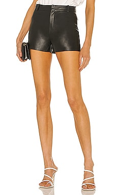 Garnet Leather Shorts LAMARQUE $275