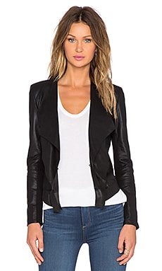 LaMarque Zura Leather Jacket in Black