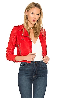 Ciara Jacket in Formula One Red