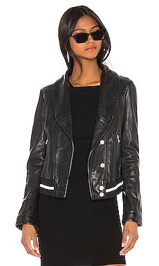 Carina Leather Jacket LAMARQUE $473