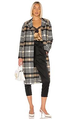 Coppola Plaid Coat LAMARQUE $495 NEW ARRIVAL