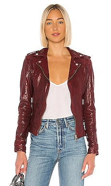 Chloe Leather Jacket LAMARQUE $550