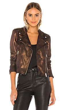 Donna Leather Jacket LAMARQUE $595 NEW ARRIVAL