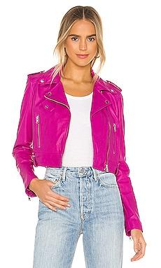 Ciara Leather Jacket LAMARQUE $575