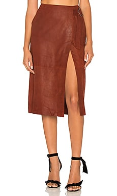 Contessa Skirt in Rosewood