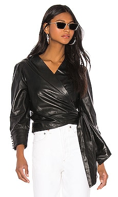 Levora Leather Top LAMARQUE $315