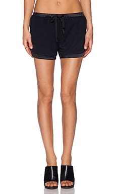 LA't by L'agence Running Short in Black