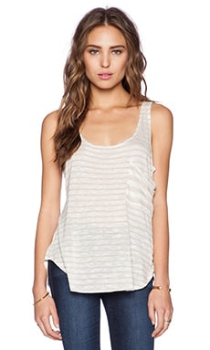 LA't by L'agence Pocket Tank in Natural & White