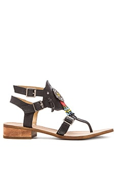 Latigo Riptide Sandal in Black