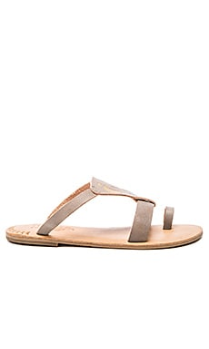 Olana Sandal in Fog Grey