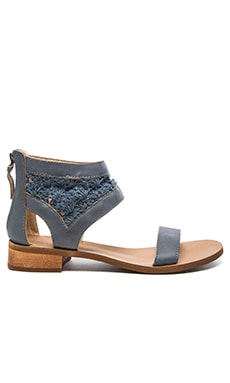 Rupee Sandal in Denim Blue