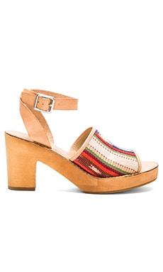 Latigo Inca Sandal in Amber
