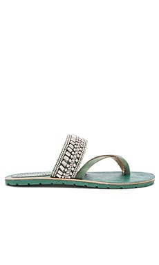 Latigo Shaman Sandal in Green Blue